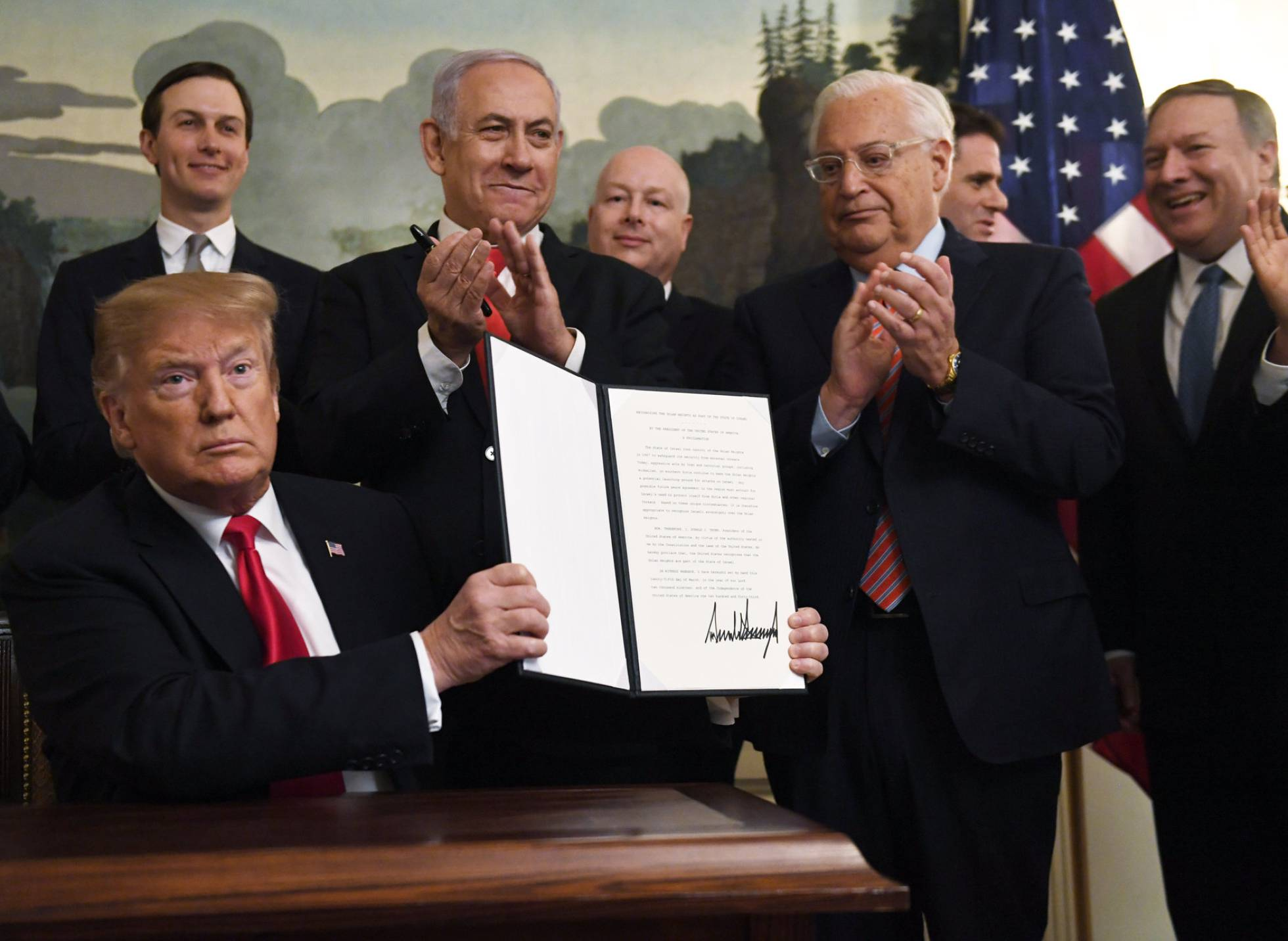 Estados Unidos ataca la legítima soberanía Siria sobre los Altos del Golán