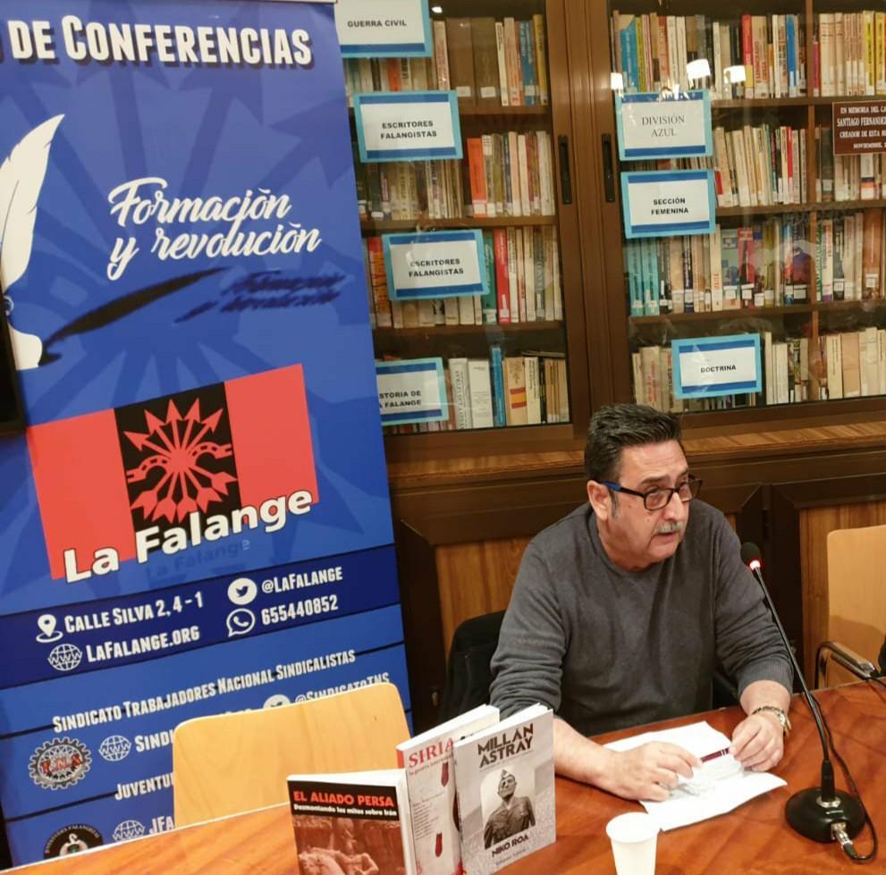 Entrevista a Carlos Rodríguez, Jefe Nacional del sindicato TNS, Trabajadores Nacional-Sindicalistas