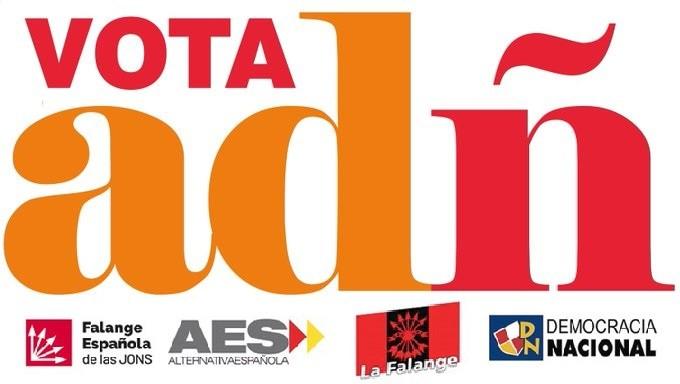 Próximos actos electorales de ADÑ: Badajoz, Zaragoza y Barcelona