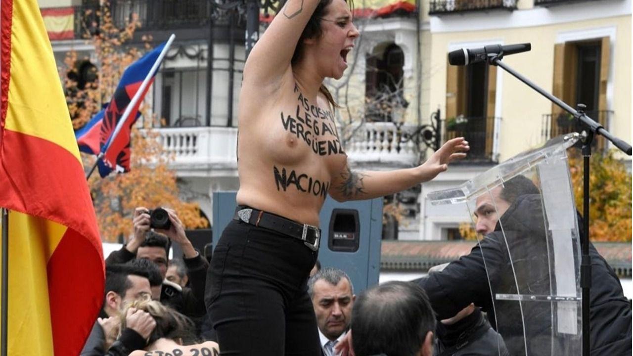 Las activistas de FEMEN citadas a declarar por el Juez de Instrucción de Madrid el próximo día 13 de Mayo a las 10:00 h.