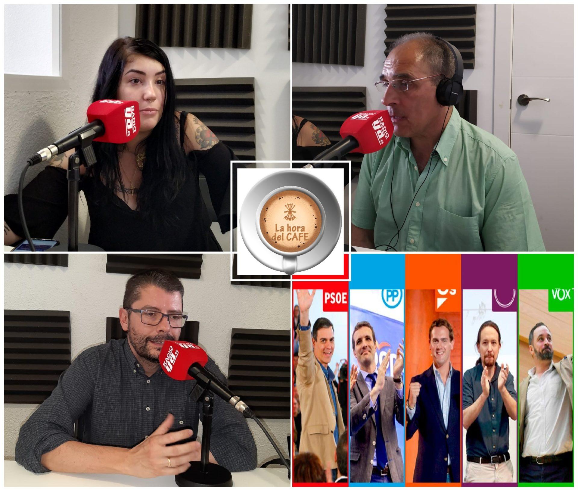 """""""La Hora del CAFÉ"""" con Elisa, Luis Alonso y Jesús Muñoz"""