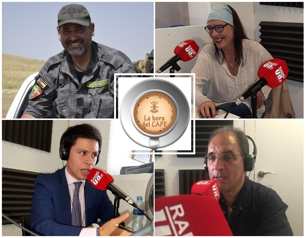 """""""La Hora del CAFÉ"""" con Chía, David López y Simón de Monfort"""