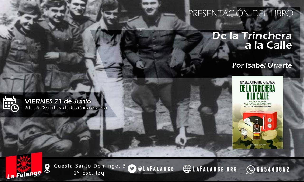 21-J: Viernes cultural sobre inventos militares con Isabel Uriarte