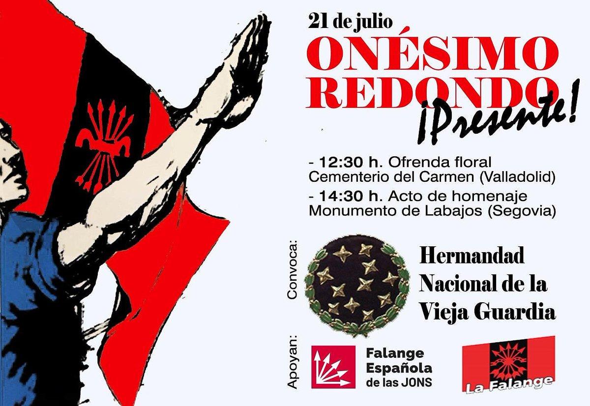 Domingo 21: Homenaje a Onésimo en Valladolid y Labajos