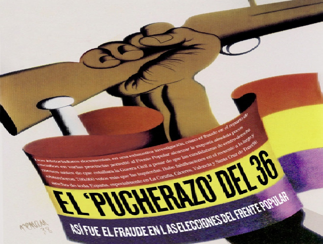 El fraude electoral que llevó al criminal Frente Popular al poder