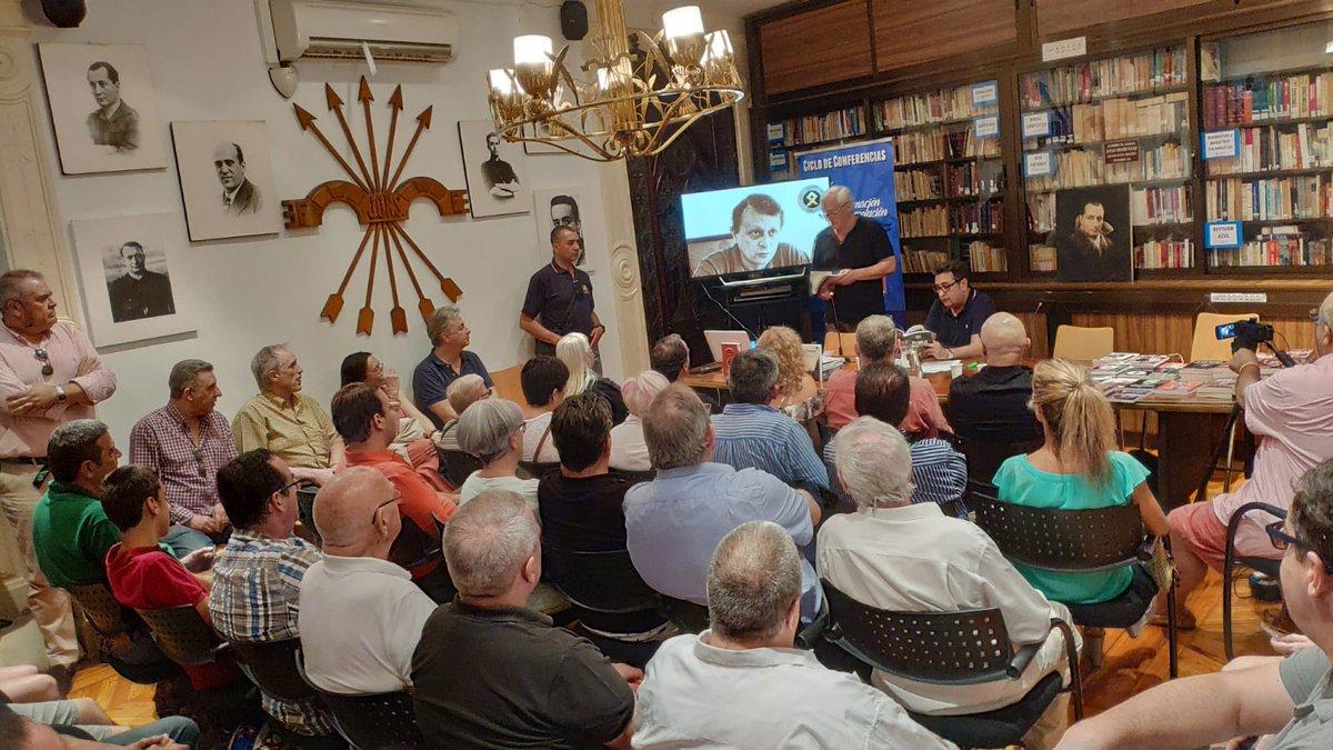 Viernes Cultural doble sobre Stefano Delle Chiaie y la ACIM Juan Ignacio -vídeo-
