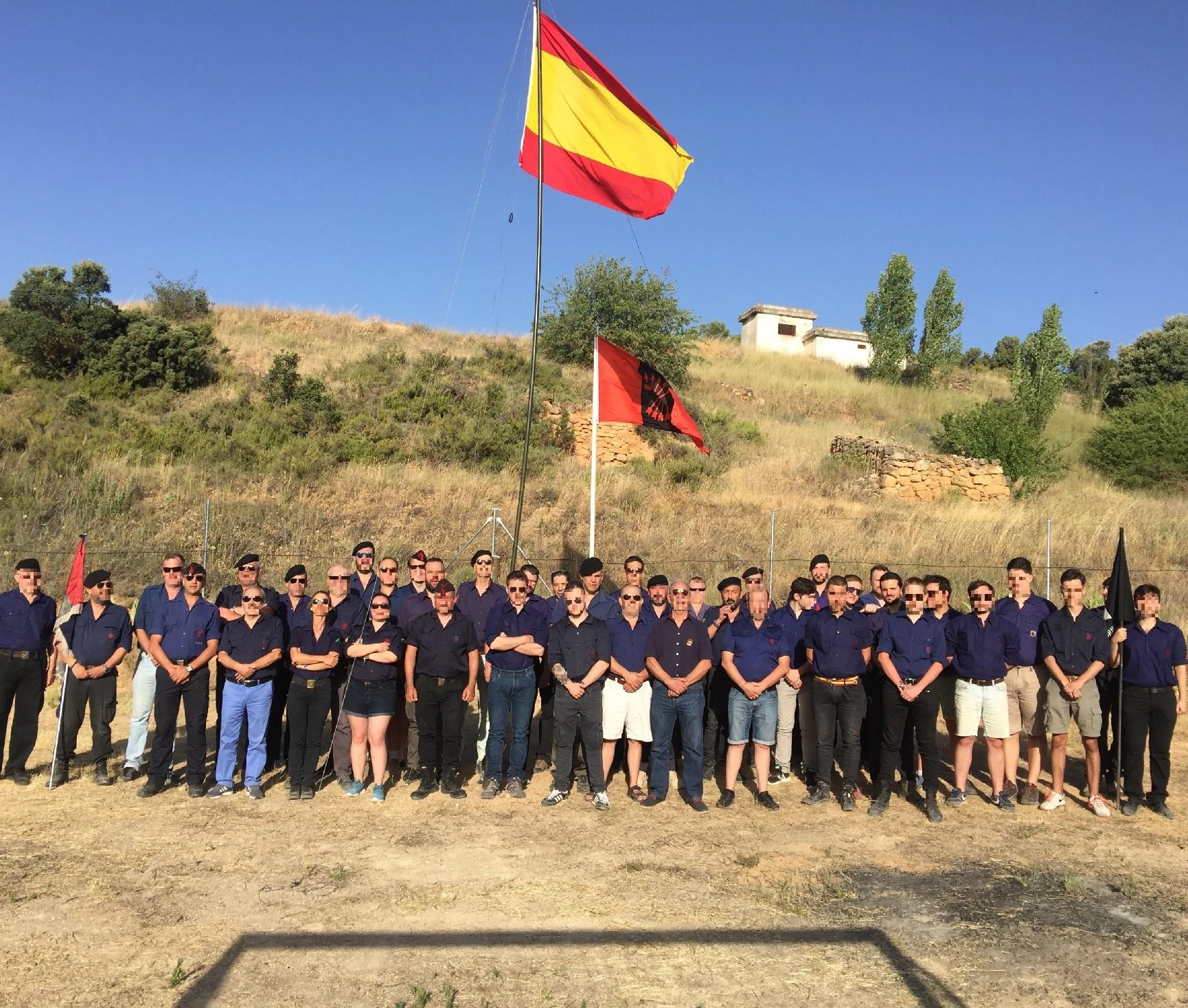 Celebrado el XVI Campamento Nacional de Juventudes de La Falange