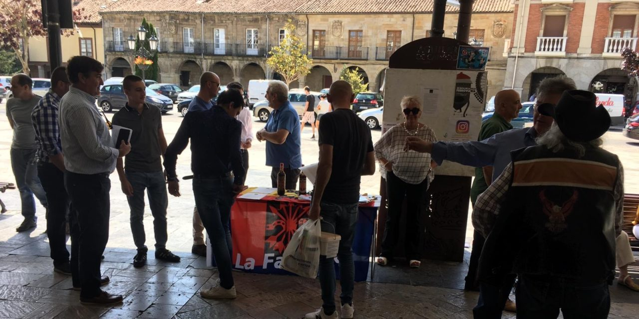 Jornada falangista en Aguilar de Campoo