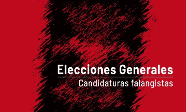 Elecciones Generales: Candidaturas falangistas