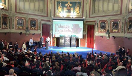 Imágenes de la espectacular conmemoración de la fundación de Falange Española