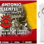 Viernes 22: La Falange convoca una manifestación por la Unidad Nacional. Nota de prensa