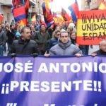 Falange, Frente Popular y Justicia Social