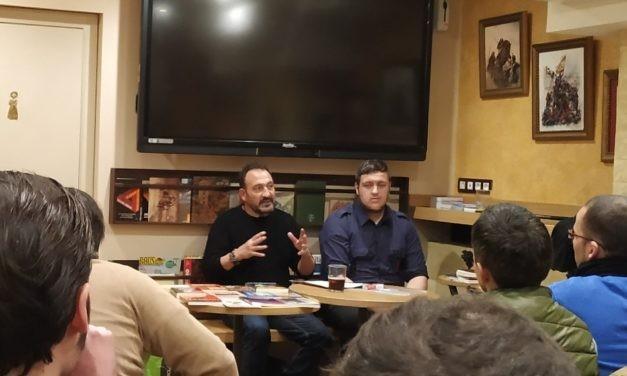 """La Falange de Barcelona realizó el coloquio """"Fundamentos y soluciones nacionalsindicalistas"""""""