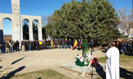 Recordamos a Ion Mota y Vasile Marin en el lugar de su martirio