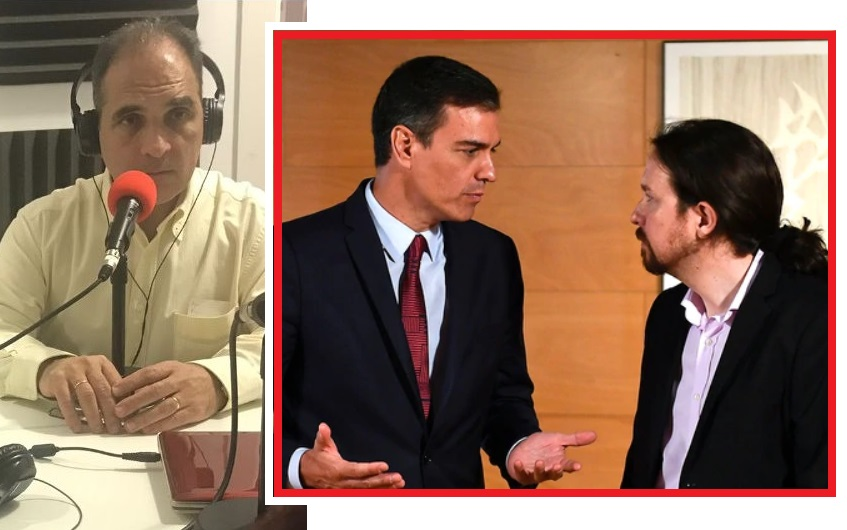 """""""Pedro Sánchez y el Sistema. El dedo y la luna"""" Intervención de Jesús Muñoz en la Inter"""