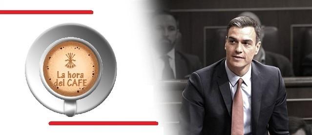 """""""La Hora del CAFÉ"""" con Pedro Chaparro, Alfonso y Nacho Larrea"""