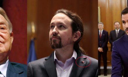 """""""Triángulos rojos (Rameras de Soros)"""" por Carlos Rodríguez"""