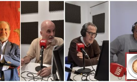 """""""La Hora del CAFÉ"""" con Juan Chicharro, Iñigo Pérez de Herrasti y Chuco Bermejo"""
