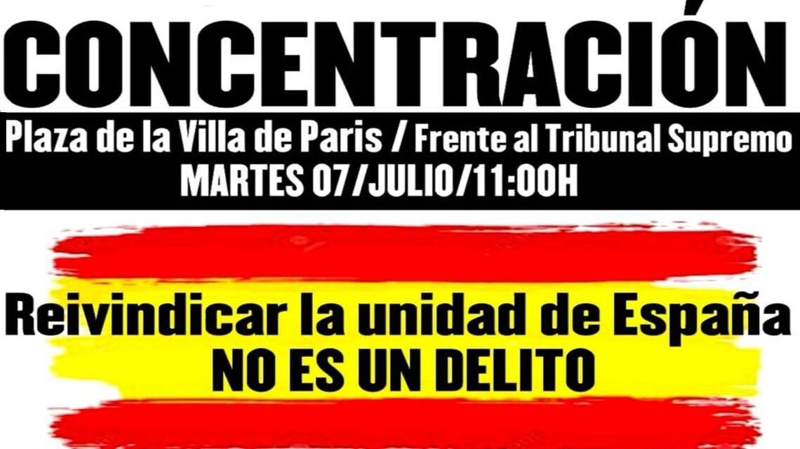 Martes, 7 de Julio: Concentración para la absolución de los 14 del Blanquerna