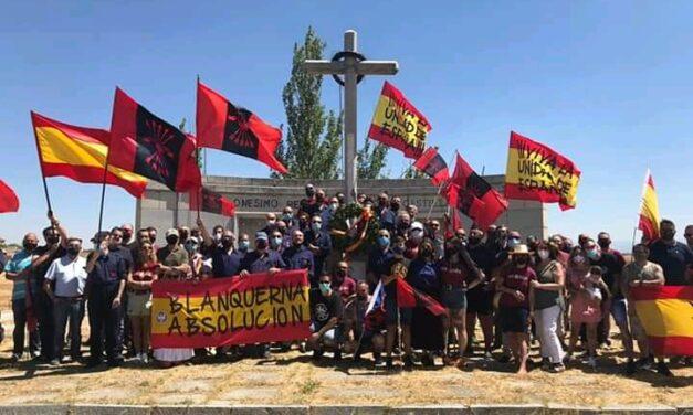 Concentración y manifestación en Labajos contra la ley de Memoria Histórica y homenaje a Onésimo Redondo