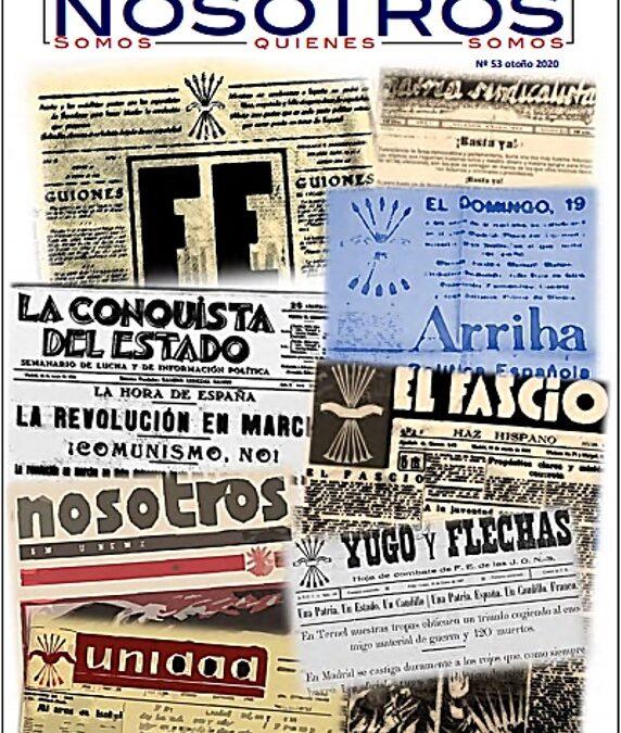 """Número 53. Revista digital """"NOSOTROS"""" – La Revista de La Falange"""