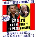 29 DE OCTUBRE, NUEVO JUICIO A LA FALANGE Y AL PATRIOTISMO POR DEFENDER LA UNIDAD DE ESPAÑA