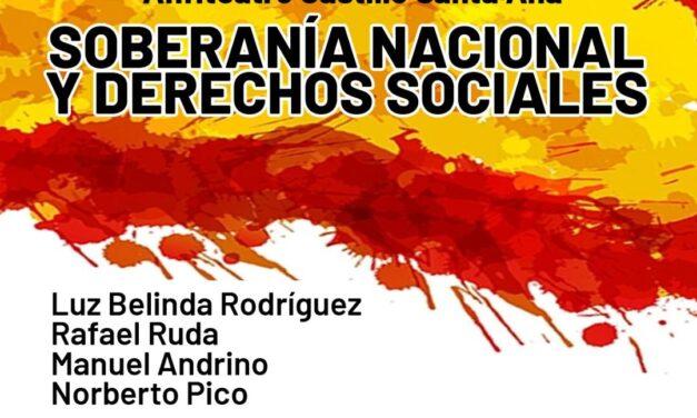 Acto unitario falangista – Soberanía nacional y derechos sociales – Roquetas de Mar (Almería)