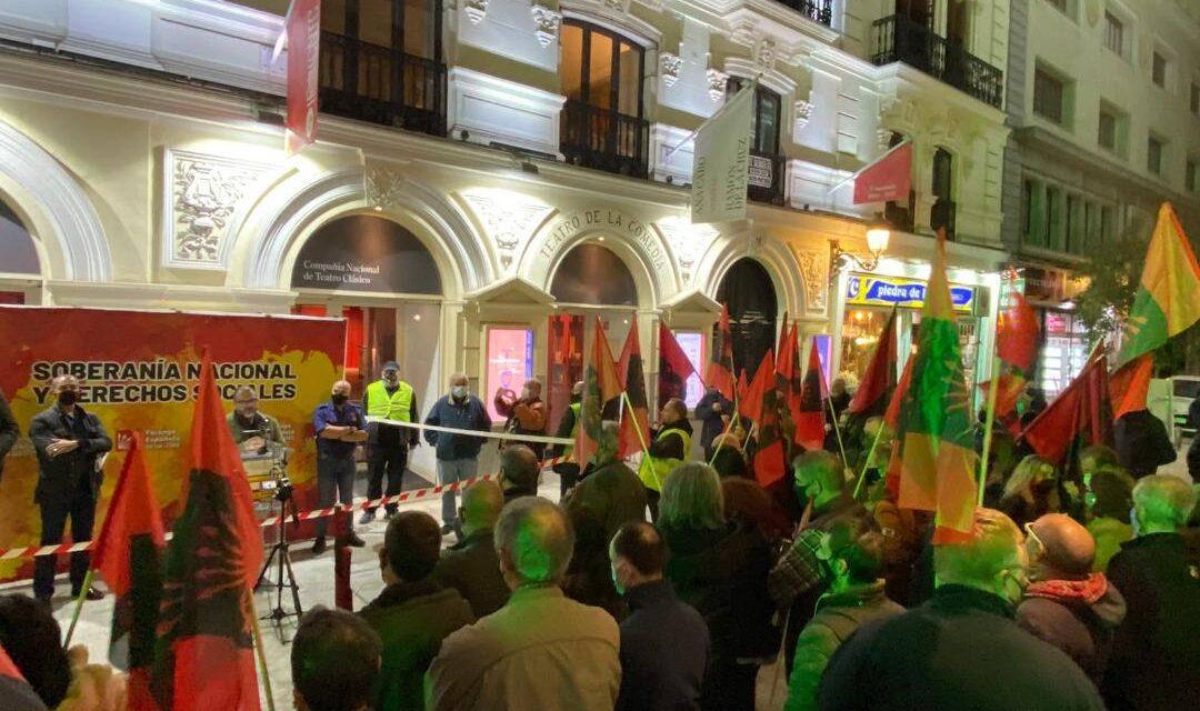 Acto unitario falangista por la conmemoración del 87 aniversario de la fundación de Falange Española