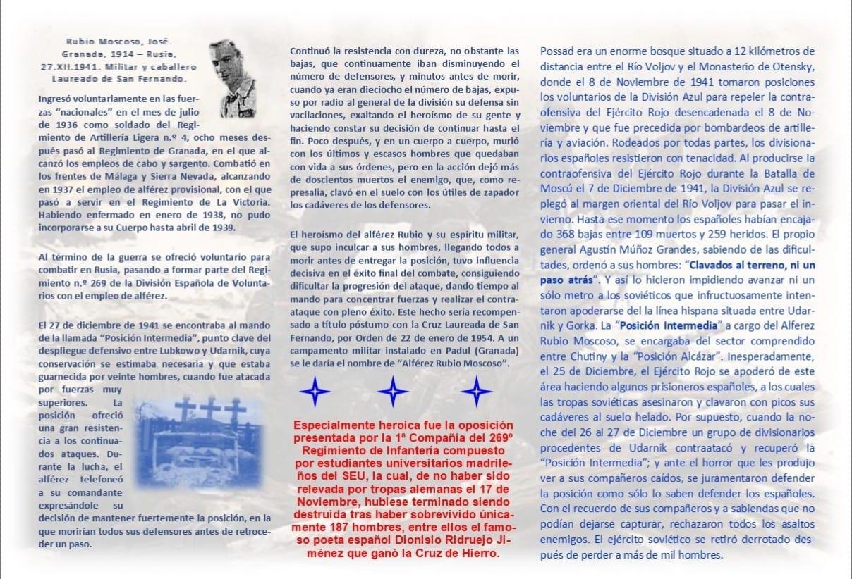 La Posición Intermedia, LXXIX aniversario.