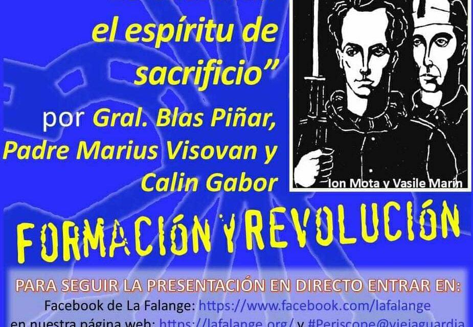 """Nuevo Viernes Cultural de La Falange con la conferencia """"Lo esencial: el espíritu de sacrificio"""""""
