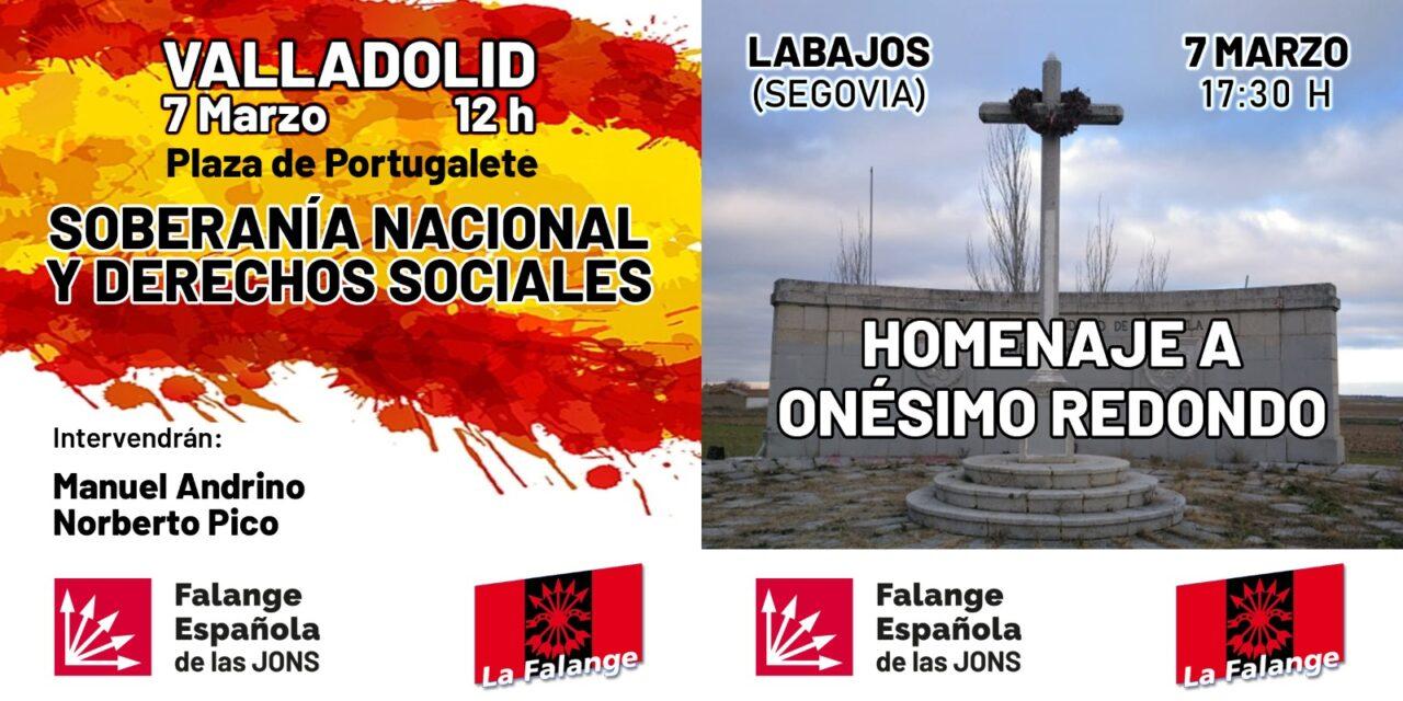 Acto en defensa de la Soberanía Nacional y los Derechos Sociales