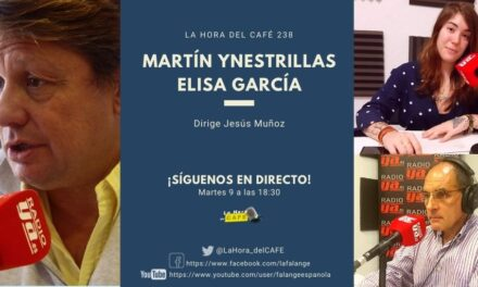 La Hora del CAFE 238 en directo por Youtube, Facebook y Twitter con Martín Ynestrillas y Elisa García