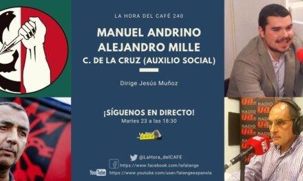 La Hora del CAFE 240 en directo por Youtube, Facebook y Twitter. Pandemia, emergencia social y colas del hambre