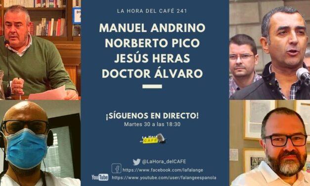 ESPECIAL La Hora del CAFE: ¡La candidatura de unidad falangista para el 4 de mayo ya está presentada!