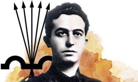 ONÉSIMO REDONDO. HONOR Y GLORIA A UN REVOLUCIONARIO CAIDO POR ESPAÑA Y LA JUSTICIA SOCIAL. 16-2-1905 – 24-7-1936