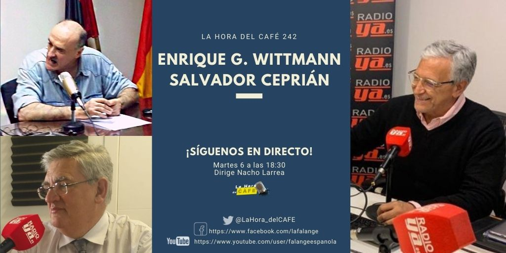 Nueva edición de La Hora del CAFE, con Salvador Ceprián y Enrique Whittmann