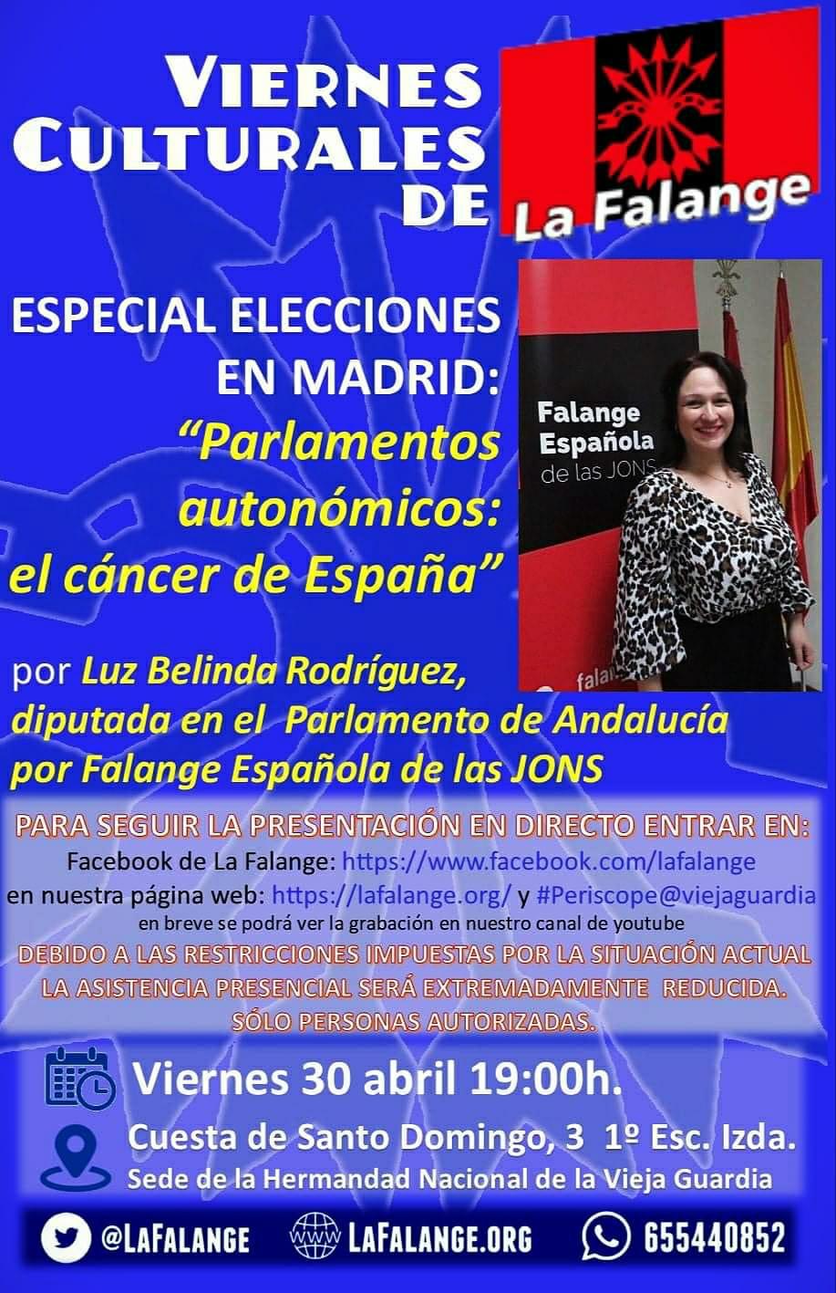 Nuevo viernes cultural. ESPECIAL ELECCIONES con Luz Belinda Rodríguez