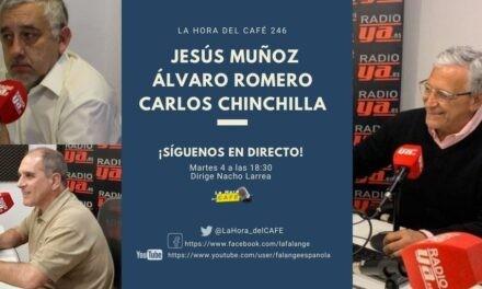 La Hora del CAFE 246 en directo por Youtube, Facebook y Twitter con Jesús Muñoz y Álvaro Romero