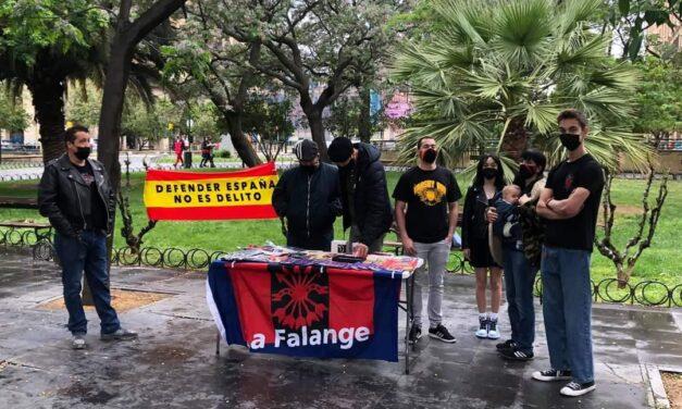 La Falange en Aragón: el movimiento se demuestra andando