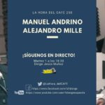 La Hora del CAFE 250 en directo por Youtube, Facebook y Twitter con Manuel Andrino y Alejandro Mille