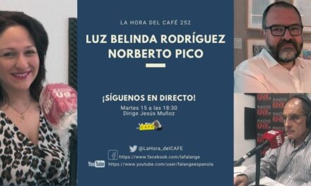 La Hora del CAFE 252 en directo por Youtube, Facebook y Twitter con la diputada Luz Belinda Rodríguez y Norberto Pico