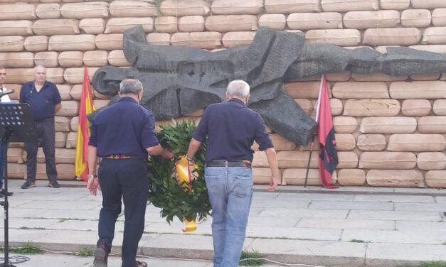 Homenaje a los caídos en el Cuartel de la Montaña